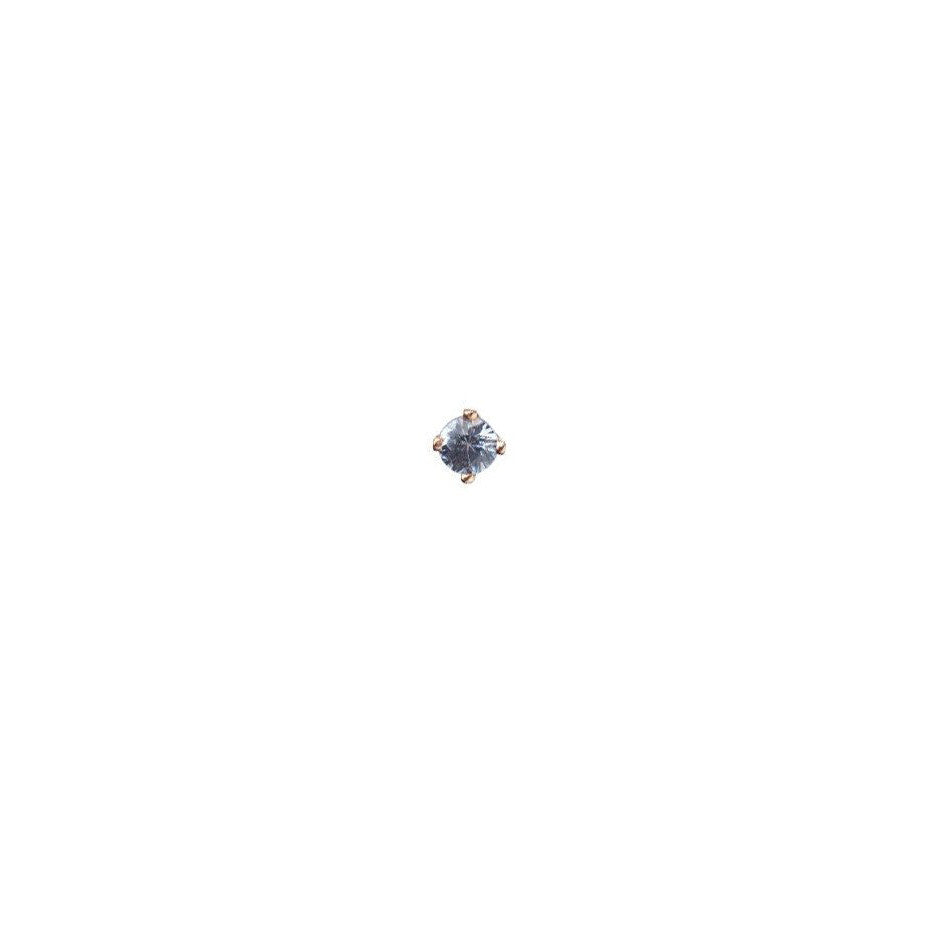 Heaven Sent Sapphire Micro Stud Earring - 9ct gold