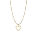 Open Your Heart Necklace - Gold