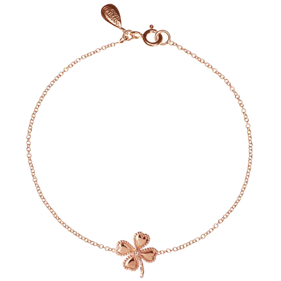 Lucky Clover Bracelet - Rose Gold