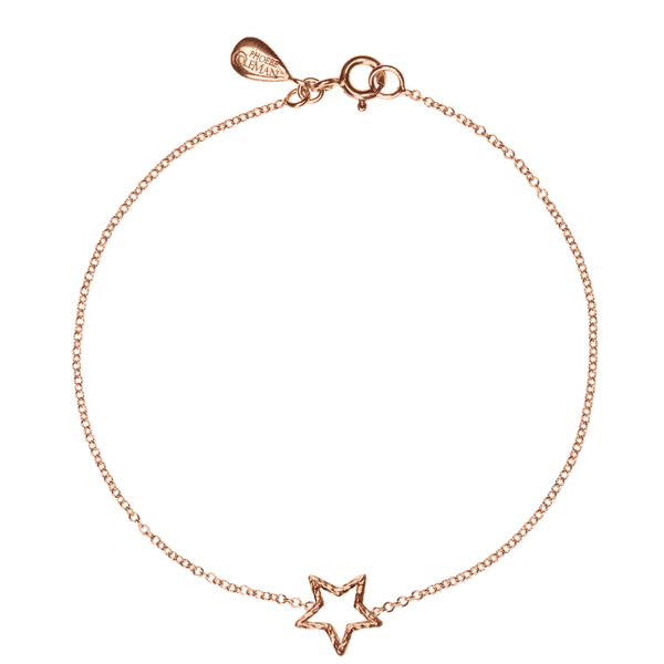 Estella Star Bracelet - Rose Gold