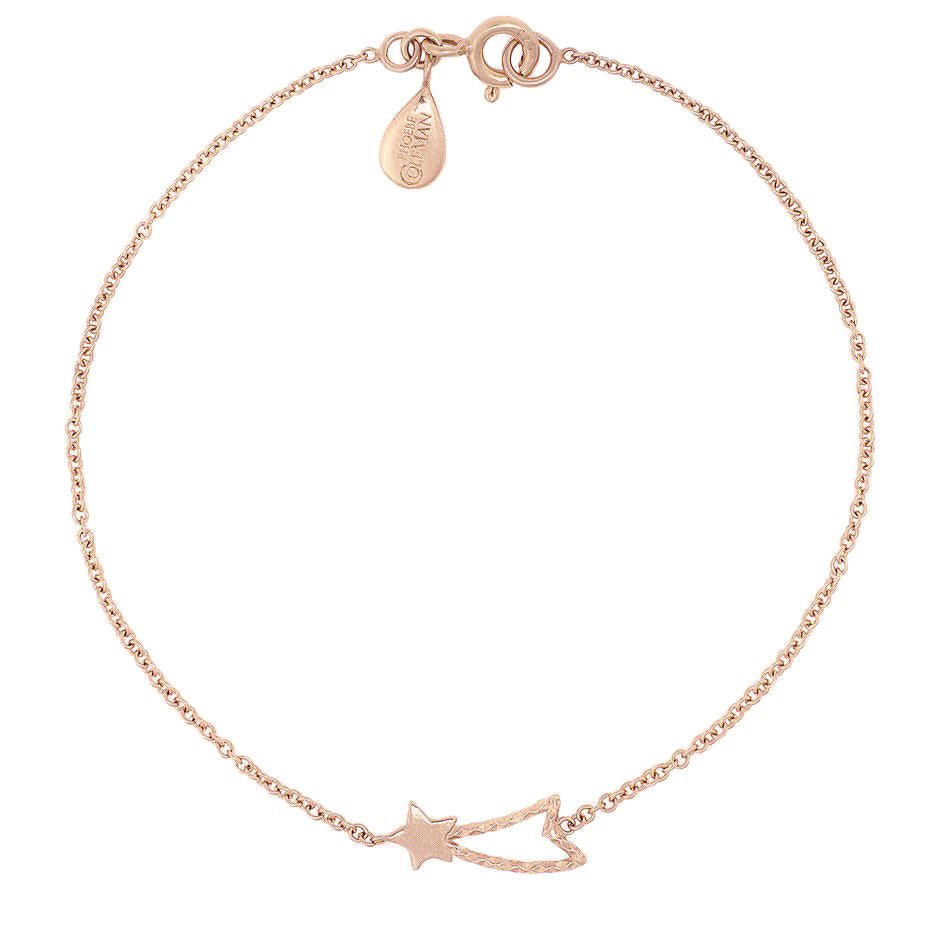 Shooting Star Bracelet - Rose Gold