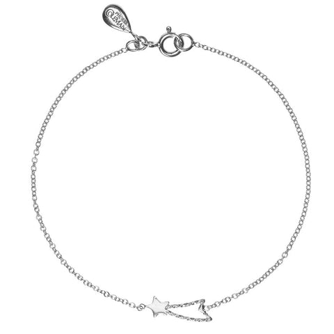 Shooting Star bracelet in silver.