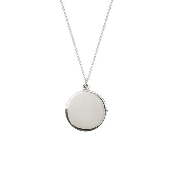 SALE Solar Locket - Silver
