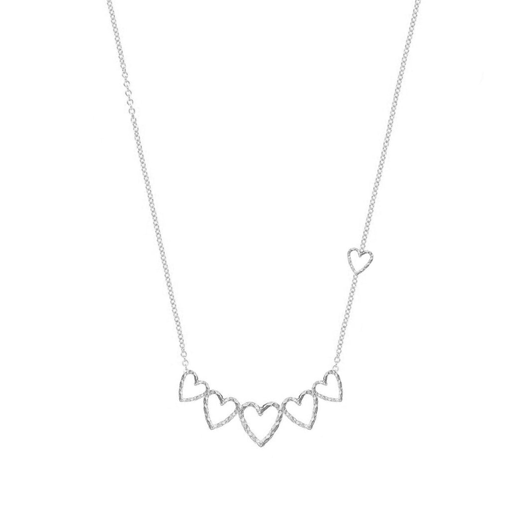 Swing You Some Love Necklace - Silver