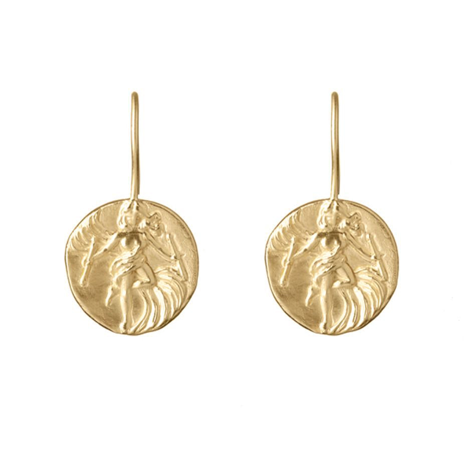 'The Dancer' Earrings - Gold