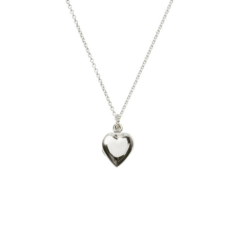 Venus Heart Locket - Silver