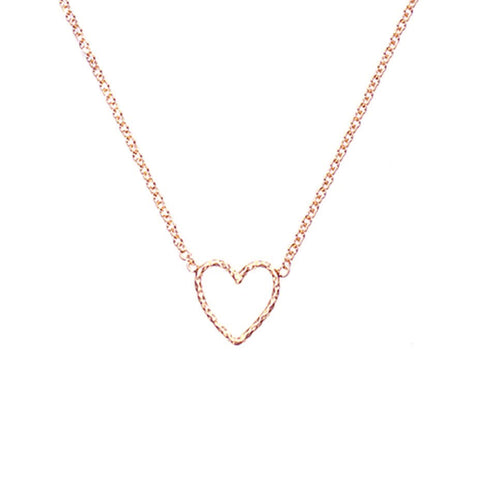 Love Me Tender Necklace - Rose Gold