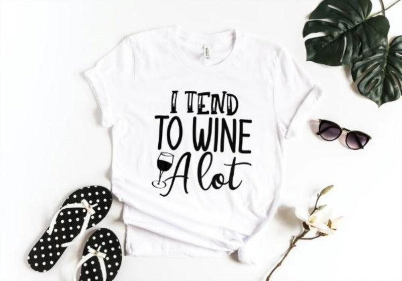Wine A Lot T-shirt-Sua Sponte Design-Sua Sponte Design LLC