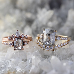 custom designed diamond rings
