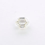 0.71ct Clear Hexagon Rose Cut Diamond