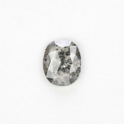 .74 Carat Salt & Pepper Rose Cut Diamond