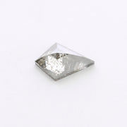 .83 Carat Grey Speckled Rose Cut Diamond