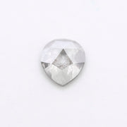 .94 Carat Grey Speckled Rose Cut Diamond