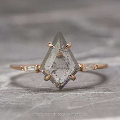 Custom Betty engagement ring