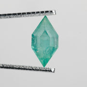 1.54 ct Geometric Hexagon Brilliant Cut Emerald