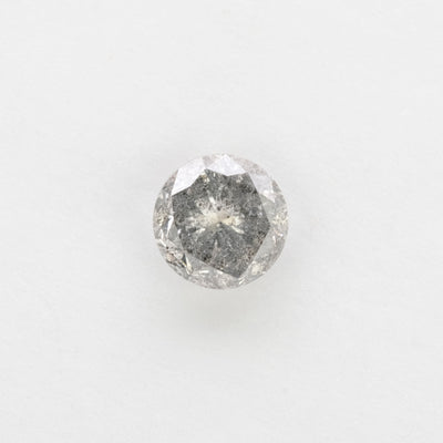 1.03ct Salt & Pepper Brilliant Cut Diamond