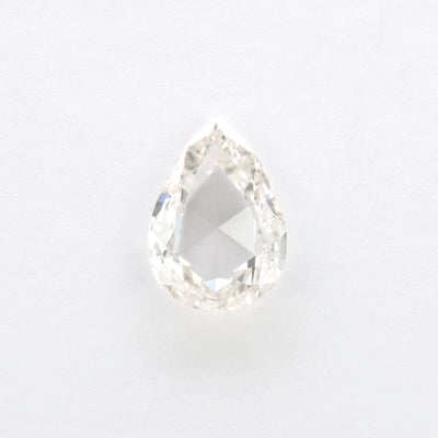 1.06ct Clear Rose Cut Pear Diamond