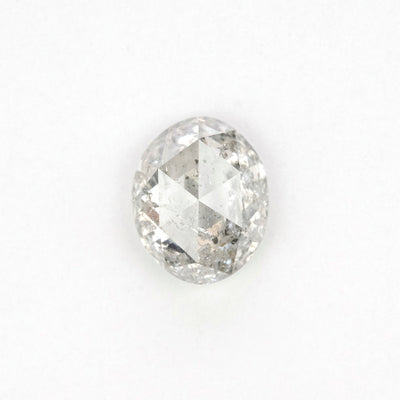 1.22 Carat Salt & Pepper Rose Cut Diamond