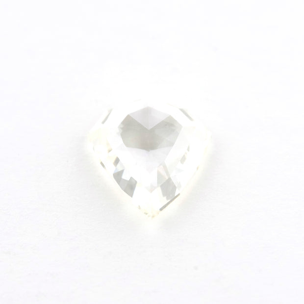 1.34 Carat Step Cut Clear Hexagon Diamond