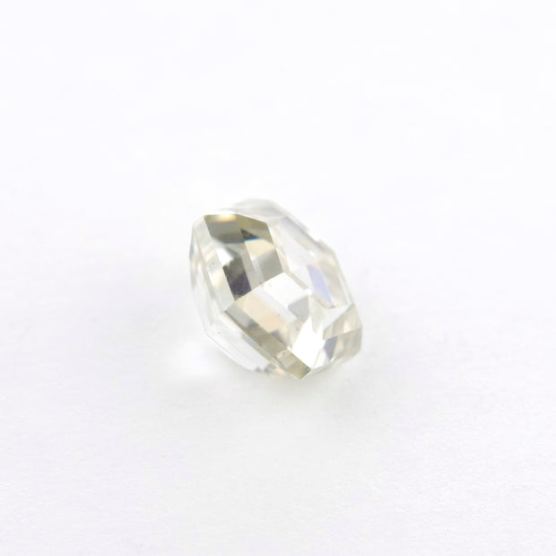 1.35 Carat Step Cut Clear Hexagon Moissanite