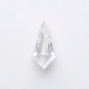 1.39ct Translucent White Kite Rose Cut Diamond