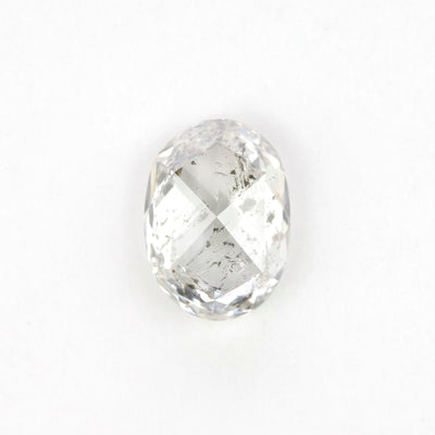 1.44 Carat Salt & Pepper Double Cut Diamond