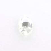 1.60 Carat Clear Marquise Rose Cut Diamond