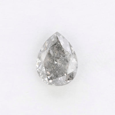 1.68 Carat Salt & Pepper Brilliant Cut Diamond