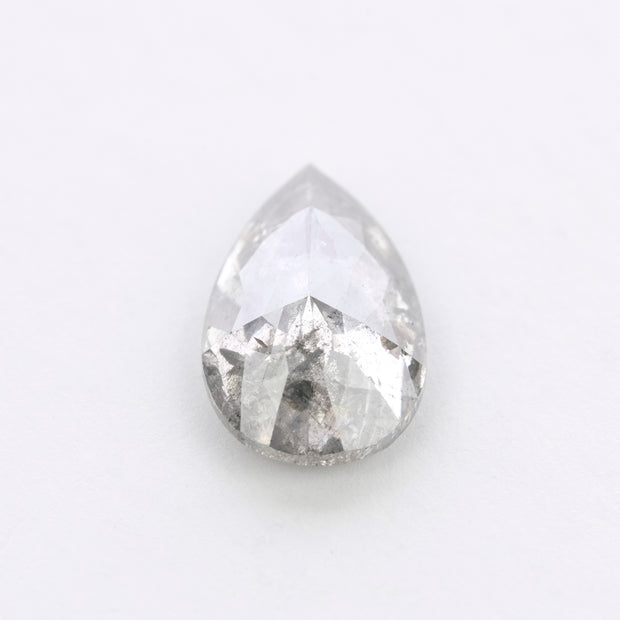 1.79 Carat Salt & Pepper Rose Cut Diamond