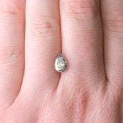 1.81 Carat Salt & Pepper Brilliant Cut Diamond