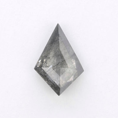 1.90ct Grey Speckled Kite Rose Cut Diamond