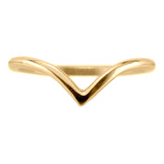 Vivian Wedding Band, 14k Yellow Gold