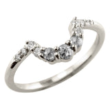 Grey Diamond Wedding Ring