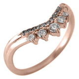 Margot Diamond Wedding Band,  14K Rose Gold