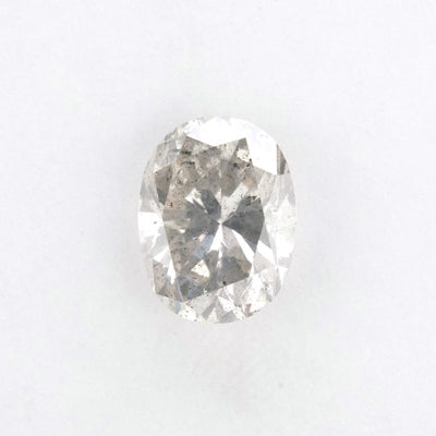 2.07 Carat Clear Oval Brilliant Cut Diamond