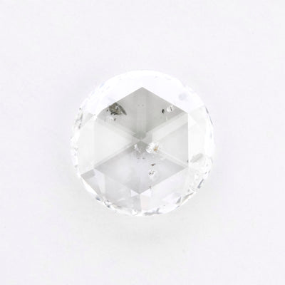 2.60 Carat Translucent Rose Cut Diamond