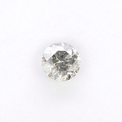 1ct Salt & Pepper Brilliant Cut Diamond