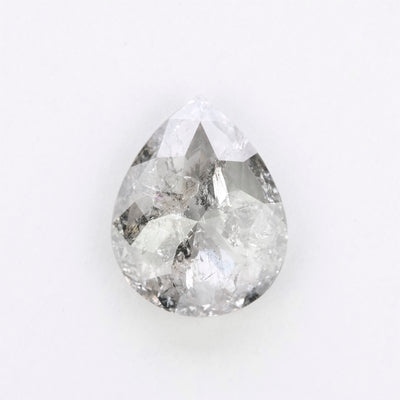 2.03 Carat Salt & Pepper Rose Cut Diamond