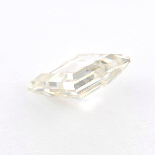 2.25 Carat Step Cut Lozenge Moissanite