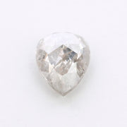 2.91 Carat Salt & Pepper Rose Cut Diamond