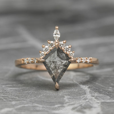 Kite Diamond Engagement Ring