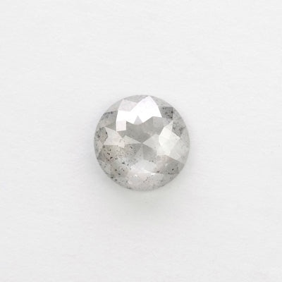 1.11 Carat Grey Speckled Round Diamond
