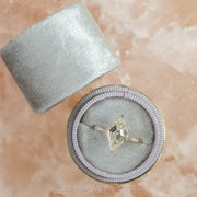 Velvet and Metal 'With This Ring' Box