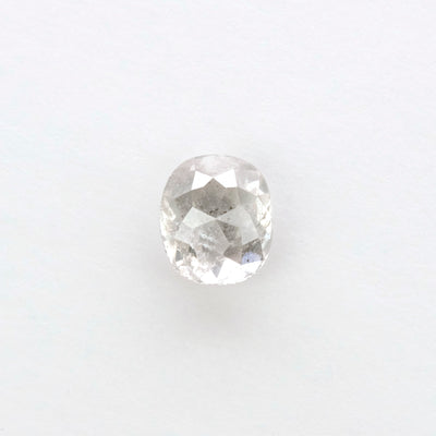1.06ct Translucent Salt & Pepper Oval Double Cut Diamond