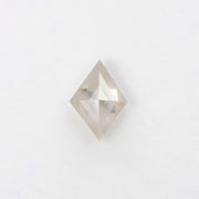.96ct Icy White/ Grey Lozenge Rose Cut Diamond