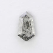 1.90ct Salt & Pepper Geometric Rose Cut Diamond