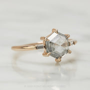 Custom Zoe engagement ring