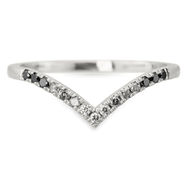 Ombre Diamond Wedding Ring