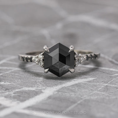 Custom Quincy setting engagement ring