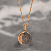 Moon Phase with Diamonds Rose Gold